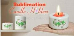 sublimation candle holde