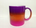 rainbow color mug