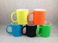 11oz Rubberized finish mug