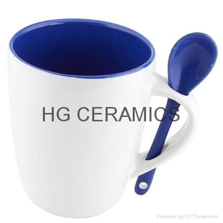 11oz  inner blue spoon mug  1