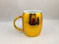 16oz  metallic color mugs,  gold  metallic color mug   green metallic color mug