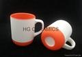 New mug, 11oz mug with silicone bottom