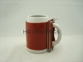 0.5L ceramic beer stein mug  wraps