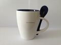 11oz  double color  spoon mug