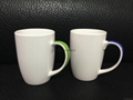 14oz  mug handle with color , mug handle with decal printing