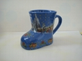 Ceramic boot mug,Christmas  boot mug