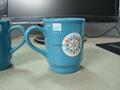 0.2L ceramic coffee mug ,200ml tea mug .  Christmas mug
