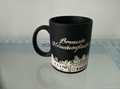 11oz matte finished mug with laser logo  , Sandblast  Mug
