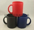 11OZ color change glass mug ,  glass mug