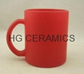 11OZ color change glass mug ,  glass mug