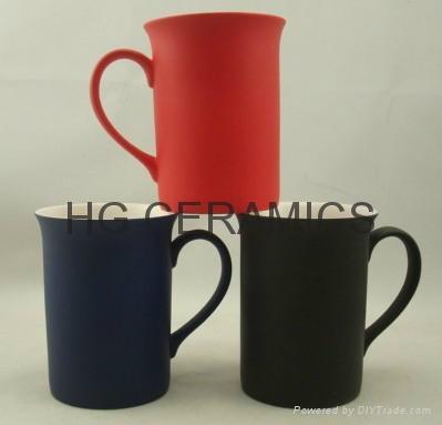 10oz color change bone china mug , Fine bone china mug ,matte finished 1