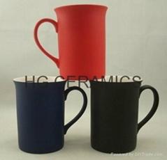 10oz color change bone china mug , Fine bone china mug ,matte finished