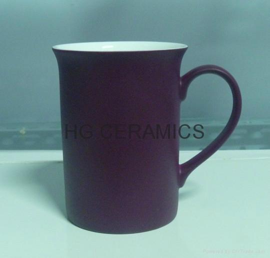10oz color change bone china mug , Fine bone china mug ,matte finished 2