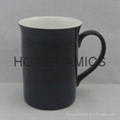 10oz color change bone china mug ,Glossy finished