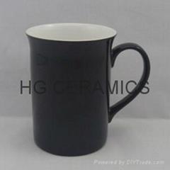 10oz color change bone china mug ,Glossy finished