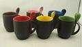 color changing spoon mug ,Magic mug