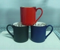 11oz  color change bone china mug , Fine bone china mug ,matte finished