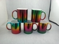 2016 New mug ,11oz colorful metallic mug ,   11oz metallic color mug