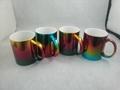 2016 New mug ,11oz colorful metallic mug ,   11oz metallic color mug