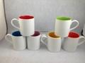 11oz  Sublimation inner color mug ,new