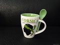 300ml spoon mug , inside color outside