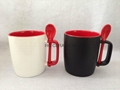 15oz  spoon mug ,Square handle  mug