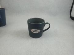 6oz coffee mug with sand blast logo  ,expresso  coffee mug