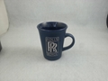 Flare mug with sand blast logo ,Europe maket mug