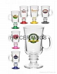 Irish coffee glass mug