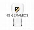 Glass beer steins, no handle