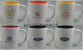 11oz Spray white  color mug with laser logo