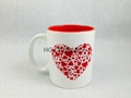 11oz mug with laser color  logo