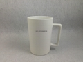 12oz white matte color mug