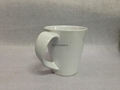12oz latte mug with curving handle