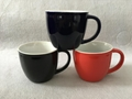 13oz  Two Tone color mug  ,