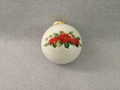 Sublimation  ceramic christmas bell (half shape ) with aluminium plate