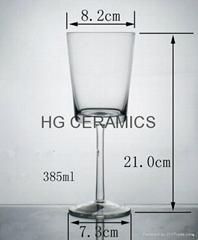 Sublimation Wine Glass