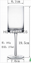 Sublimation Wine Glass 275ml