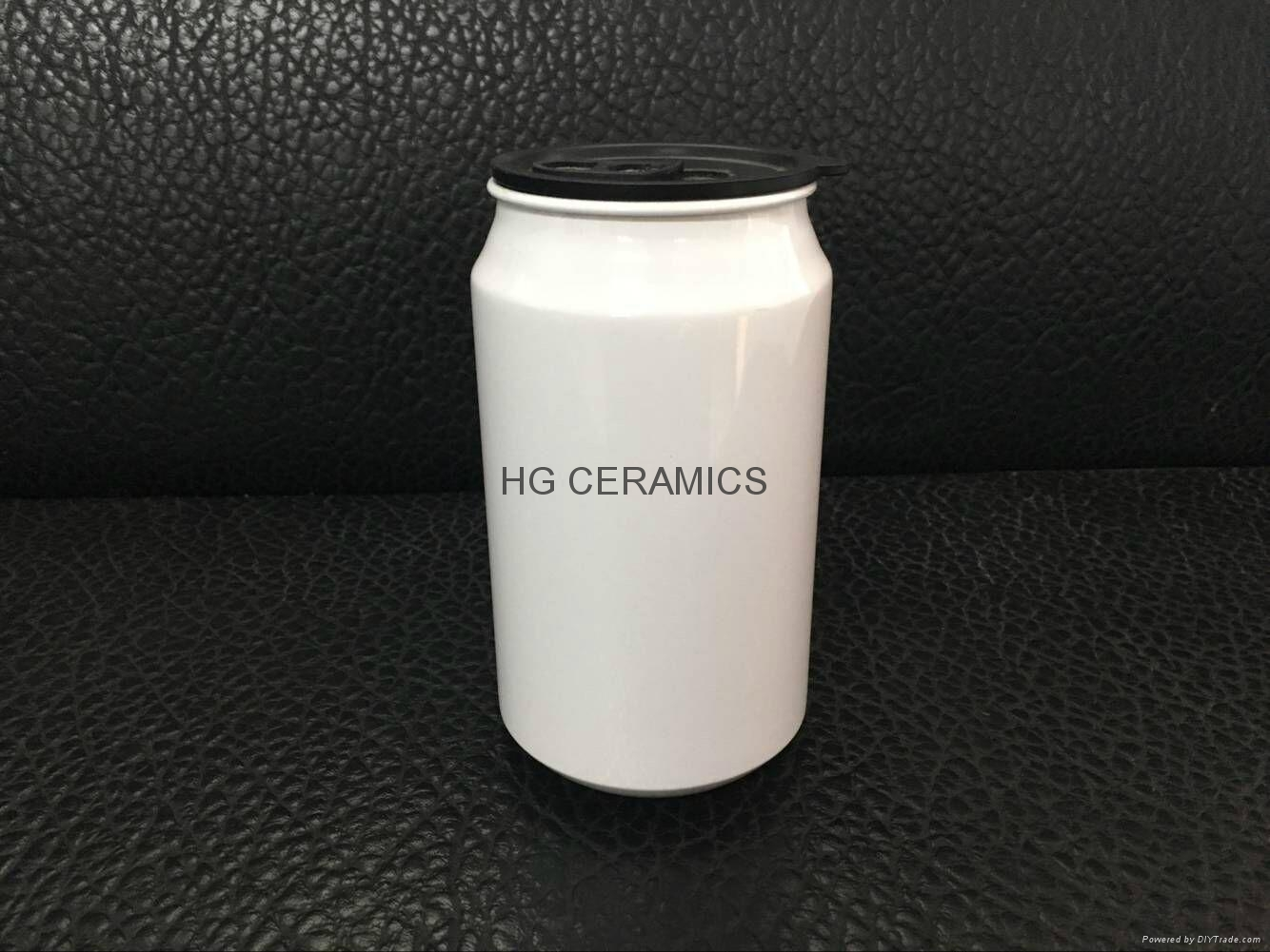 400ml  aluminium  coke can , sublimation coated, 1