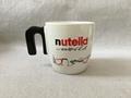 N handle mug ,ceramic mug  with N shape handle