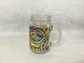 16oz Sublimation Mason jar ,Round  shape ,with handle