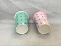 11oz double wall mug with gold  decal printing  . thermal ceramic mug