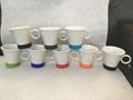 8oz ceramic mug with silicone bottom