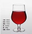 490ml  Glass mug  , Red wine glass , goblet