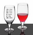 500ml  Glass mug  , Red wine glass , goblet