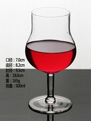 500ml  Glass mug  , Red wine glass , goblet