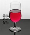 400ml  Glass mug  , Red wine glass , goblet