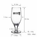 400 ml  Glass mug  , Red wine glass , goblet