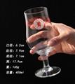 400 ml  Glass mug  , Red wine glass ,