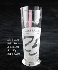 400 ml  Glass mug  ,shooter  glass